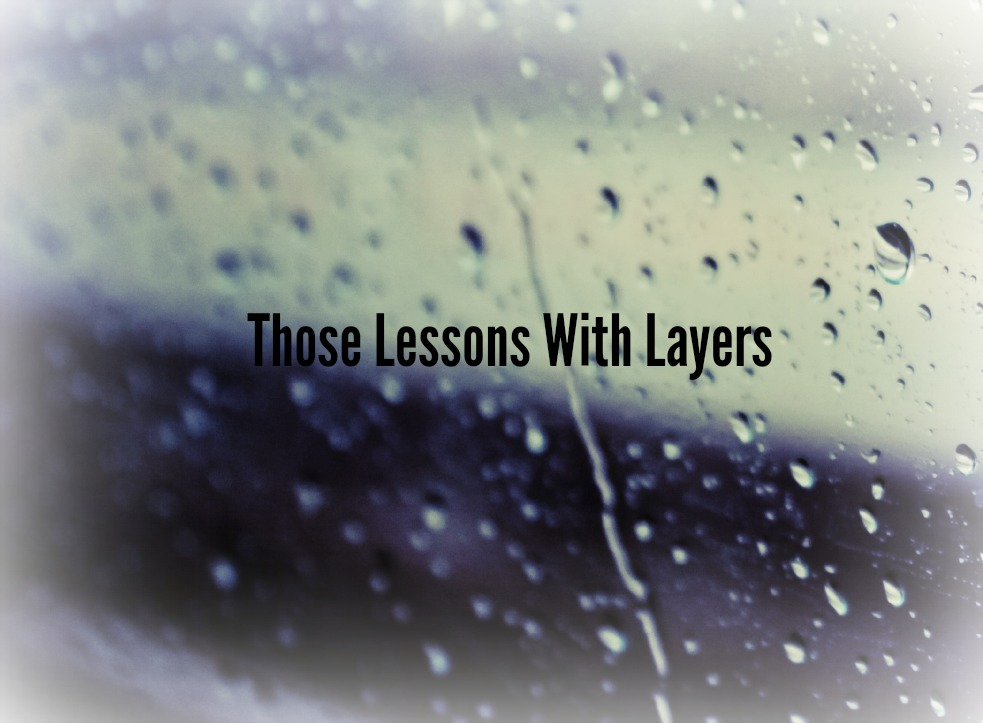 Those Lessons with Layers